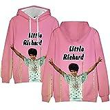 Photo de Little Richard Pullover Tout-Match Outwear Manches Longues Sweats à Capuche Style Occidental Manteaux Respirant Pull Loisirs à Capuche for garçons et Filles Les garçons et Les Filles