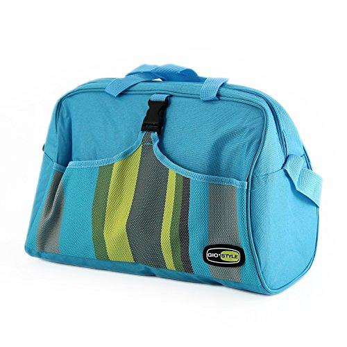 Giostyle Caprice Beach Koeltas, 18 liter, voor op reis, voedselcontainer, blauw