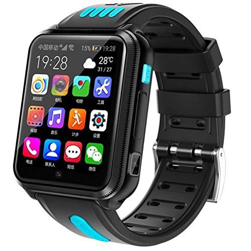 Niños 4G Smartwatches Phone, IP67 impermeable reloj de pulsera para niños niños niñas de 3 a 12 años (azul)