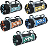 RDX Sandbag Weight Training Power Bag <span class='highlight'>with</span> Handles & Zipper | Weight Adjustable Fitness Powerbag for Weight Lifting, Running, Exercise, Powerlifting and Functional Workout