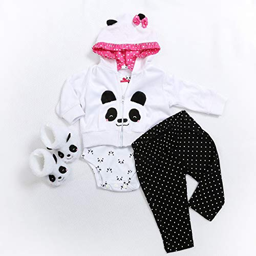 TERABITHIA 5 Estilos Diferentes Dos tamaños 47 o 60 CM Muñecas recién Nacidas Vestido Reborn Baby Doll Toda la Ropa de algodón