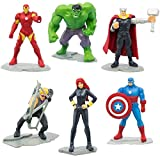 Marvel Avengers Set 6 Mini Figuren 5cm Kuchen Topper Cake Topper Hulk Iron Man Thor Captain America...