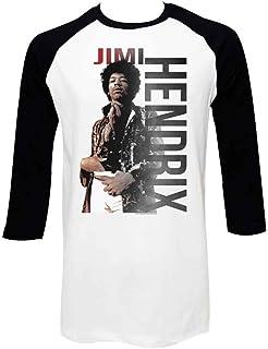JIMI HENDRIX ジミヘンドリックス (WOODSTOCK 50周年記念) - 【ラスト1着】JAMES ラグラン/長袖/Tシャツ/メンズ 【公式/オフィシャル】