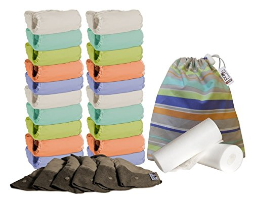 Pack de 20 Pop in Bambu Pastel