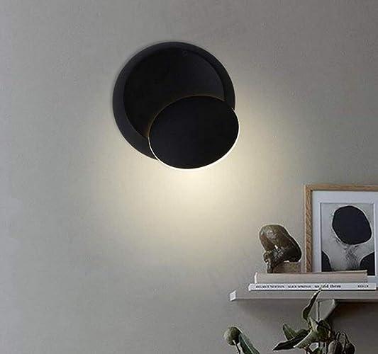 Lustre plafonnier spot Lumières LED Simple Creative Lampe murale Personnalité Moderne Allée Lampe Ronde Lampe De Chevet Réglable