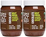 Don't Go Nuts Roasted Soybean Spread, Chocolate, 2 Count, Nut-Free Non GMO Organic (Grocery)