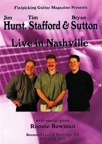 Hurst, Strafford & Sutton Live In Nashville. Für Gitarre