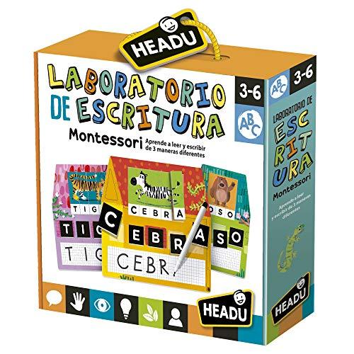 Headu Laboratorio de Escritura. Juego Infantil Educativo Aprender a Leer y Escribir. Niño y niñas de 3 a 6 años (ES28160)