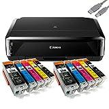 stampante canon ip7250 Tipo di supporto: ordinario, buste, carta fotografica Pro Platinum/lucida Extra II/Pro Luster/semi-lucida, foto lucida