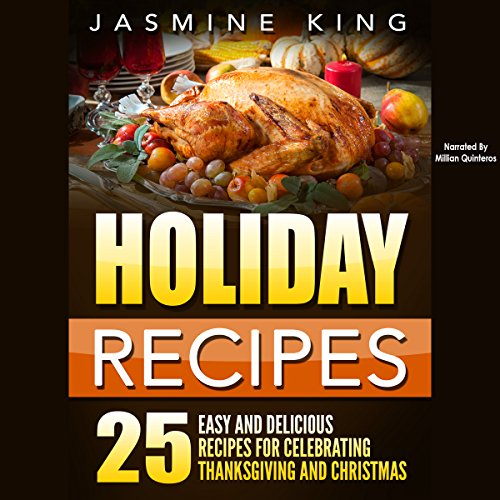 Holiday Recipes audiobook cover art