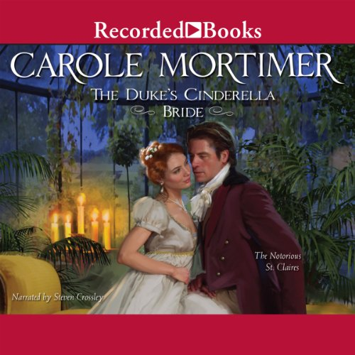The Duke's Cinderella Bride audiobook cover art