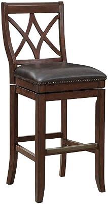 Astounding Amazon Com Belham Living Emmett Square Seat Swivel Extra Gamerscity Chair Design For Home Gamerscityorg