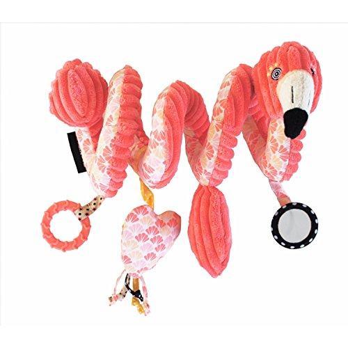 Les Deglingos Spielzeugspirale Aktivitäten Flamingos der Flamingo