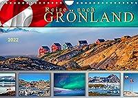 Reise nach Groenland (Wandkalender 2022 DIN A4 quer): Unterwegs in faszinierender Natur. (Monatskalender, 14 Seiten )
