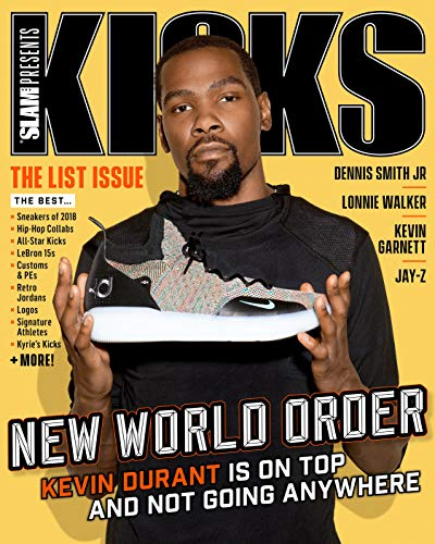Slam Magazine Presents Kicks The List Issue The Best Sneakers of 2018 Kevin Durant Cover