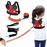 Accmor Toddler Leash Harness, Child Safety Harness Baby Leash + Anti-Lost Wrist Link, Cute Kids Harness with Walking...