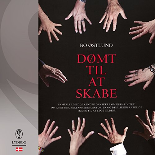 Dømt til at skabe (Danish Edition) audiobook cover art