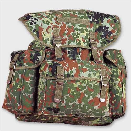 Montagne Sac à dos camouflage BW sac à dos Bundeswehr
