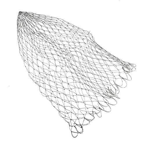 Fischernetz, Fangnetz zu Fischen Net der Fischerei Auf der Appâtpour Net Griff Frei Zusammengebaut(50)