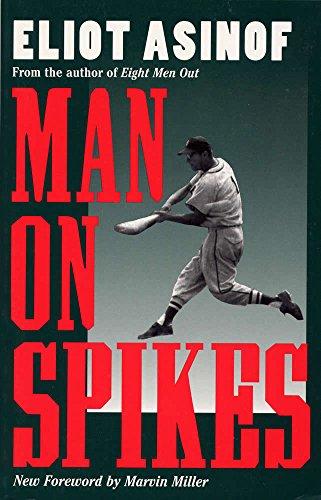 Image of Man on Spikes (Writing Baseball)