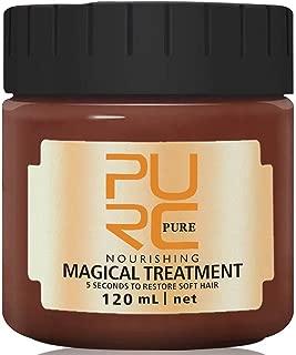 Hydrating Argan Oil Hair treatment Mask -Hair Magical Hair 5 Seconds Repairs Damage Hair Root Hair Tonic keratin repair hair mask & Scalp Treatment 120ml