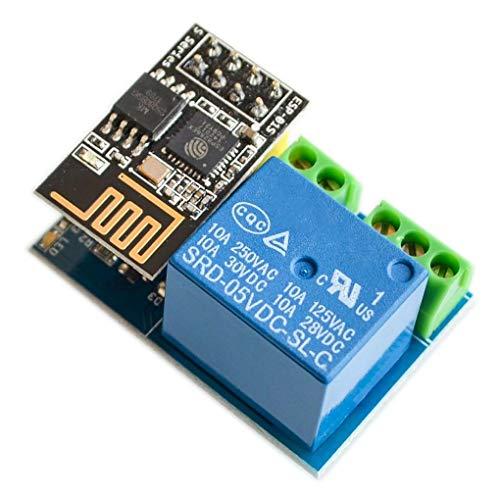 ESP8266 ESP-01S 5 V Módulo de relé WiFi Cosas para el hogar Inteligente Reemplazo del Interruptor de Control Remoto para la aplicación del teléfono Arduino