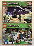 LEGO Minecraft The End Battle & LEGO The Zombie Cave