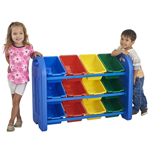 ECR4Kids Toy Storage Organizer with 12...
