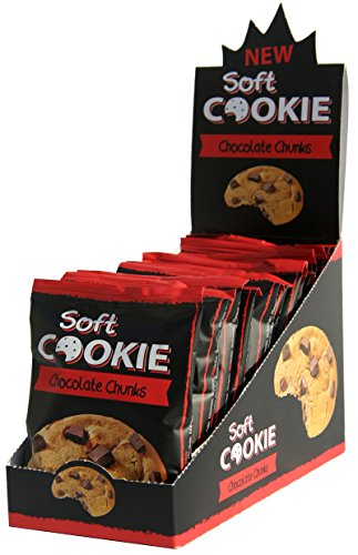 Soft COOKIE Chocolate Chunks 12 x 45g