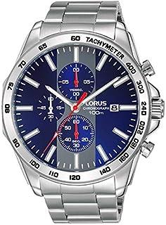 لوراس ساعة للرجال - سوار ستانلس ستيل - RM383EX9