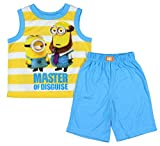 Despicable Me Boy's Minion Master of Disguise Pajama Set (Large 10/12)