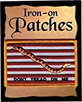 """The 1st Navy Jack PATCH, Superior Quality Iron-On / Saw-On Embroidered Patch - Each one is individually carded and sealed in a professional retail package - 3.5"""" x 2.25"""" Inches - Made in the USA"""