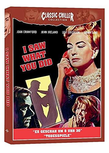 I SAW WHAT YOU DID (ES GESCHAH UM 8 UHR 30) (Deutsche Blu-Ray Premiere) - CLASSIC CHILLER COLLECTION # 15 - LIMITED EDITION