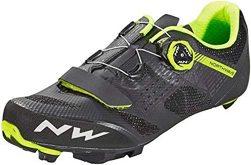 Northwave Razer MTB Fahrrad Schuhe schwarz/gelb 2020: Größe: 43