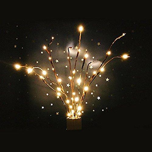 forepin&Reg; 2 x Catena Luminosa Luci Stringa Strisce Luci per Decorazione della Casa, Natale, Patio, Bordo, Decorazione del Matrimonio
