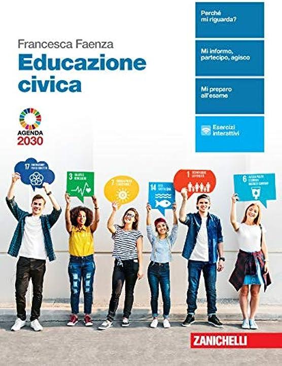 libri scuola educazione civica. per le scuole superiori.con e-book.con espansione online copertina flessibile 978-8808420251