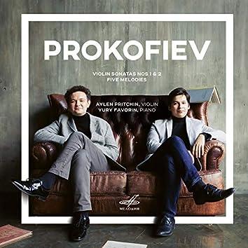 Prokofiev: Five Melodies & Sonatas Nos. 1, 2