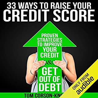 33 Ways to Raise Your Credit Score audiobook cover art
