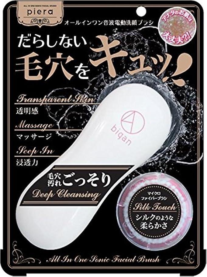 キャスト窒息させる保証金イシザワ ピエラ 電動洗顔ブラシ4D bigan 1個