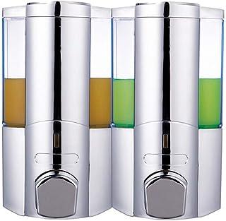 Premium Quality Soap Dispenser Wall Mounted Plastic Single/Double Head zeepdispensers Bathroom Shower Gel Shampoo Geperst...