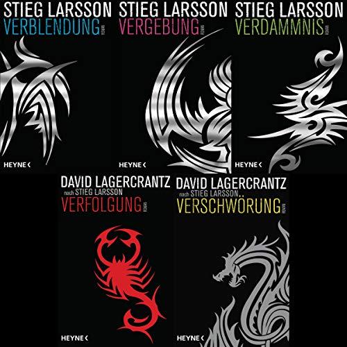 Millennium Serie von Stieg Larsson und David Lagercrantz