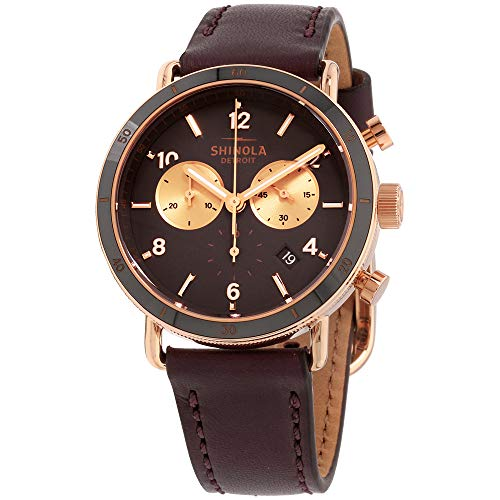Shinola The Canfield Quartz Movement Brown Dial Ladies Watch S0120089886
