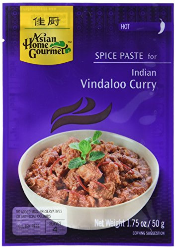 AHG Würzpaste Vindaloo Curry 50g, 12er Pack (12 x 50 g)