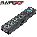 Battpit Laptop Akku für Toshiba PA3817U-1BRS PA3816U-1BRS PA3818U-1BRS PA3819U-1BRS PABAS228 Satellite C650 C650D C655 C660 C660D C670 C670D L600 L630 L645 L650 L655 - [6 Zellen/4400mAh/48Wh]
