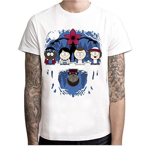 Stranger Things South Park t Shirt Men Print T-Shirts Fashio