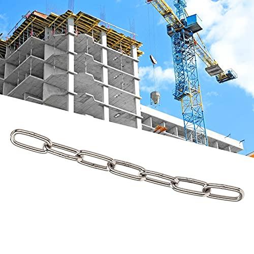 Cadenas de levantamiento de pesas Cadena de elevación Cadena de araña Cadena de elevación de eslabones largos