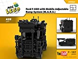 Ford F-450 with Mobile Adjustable Ramp System (M.A.R.S.) (Instruction Only): MOC LEGO