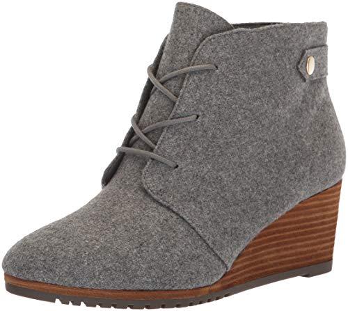 Dr. Scholl's Shoes Damen Conquer Stiefelette Mid Grey Flannel 37.5 EU W