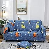 Funda Cubre Sofá Lavable 1 Plaza, Funda de sofá de Esquina Completa Universal Fundas de sofá elásticas para Sala de Estar, Funda de sillón Antideslizante Sofás Chaise S