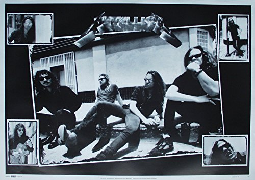 Metallica Poster Nr. 4 Format 64 x 90 cm Original von 1993